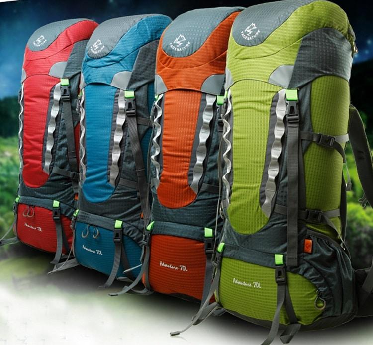 Backpacks for travelling