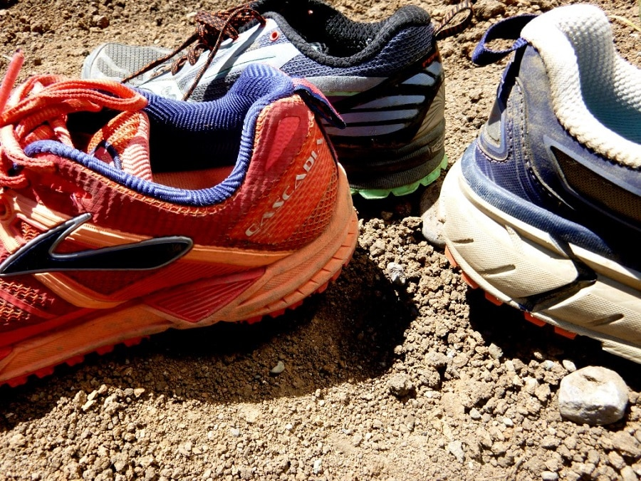 Barefoot women trail running shoes