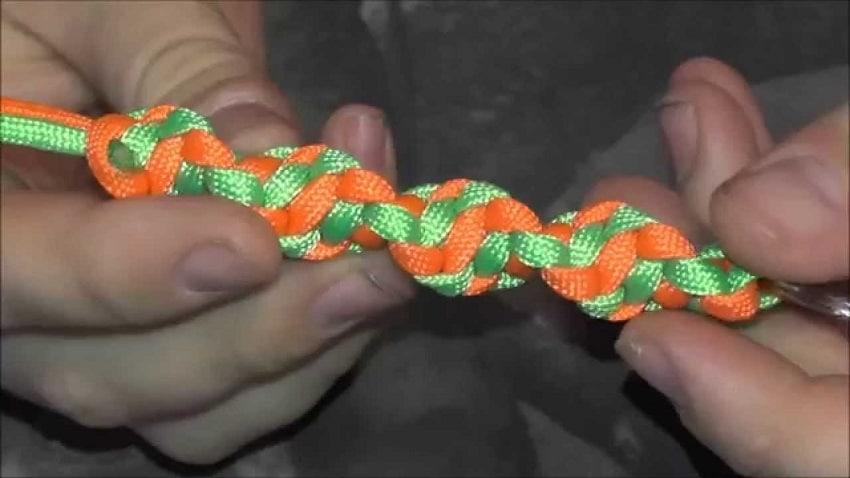 DNA Weave keychain