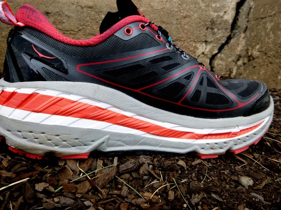 Maximalist trail running shoes